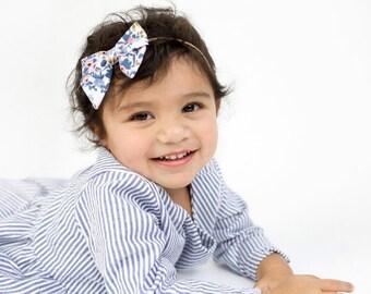 baby girl headband - baby headband - newborn headband - toddler headband - baby girl - baby bow headband - infant headband READY TO SHIP