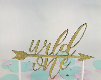 Wild one cake topper, first birthday cake topper,1st birthday cake topper,boys first birthday,girls first birthday,first birthday decoration