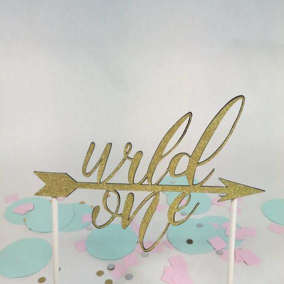 Wild One Cake Topper First Birthday Cake Topper1st Birthday