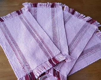 Handwoven Placemats Set of 4