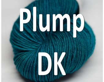 Plump DK weight, 100% Superwash Merino, 8 ply - in your choice of colors