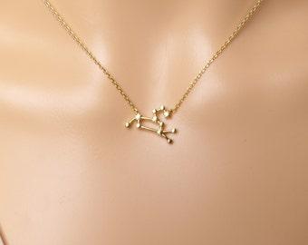 Leo Constellation Necklace,Leo Necklace,Zodiac Leo,Zodiac necklace,Constellation Jewelry,Gift idea,zodiac jewelry