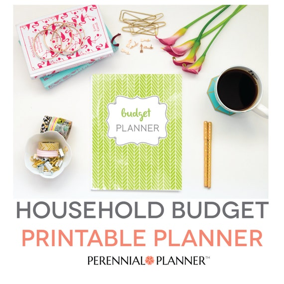 Budget Binder Printable Monthly Household Budget Form