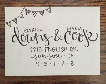Hand-Lettered Envelope Addressing for Any Occasion
