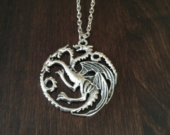 dragon necklace, dragon, silver dragon, silver dragon necklace, dragon pendant, dragon jewelry, jewellery, silver necklace, necklace