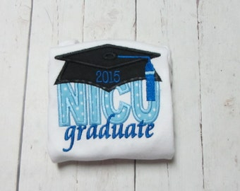 NICU Graduate Applique Shirt