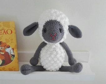 Amigurumi sheep - Crochet toy - amigurumi lamb - stuffed animal - stuffed toy - crochet sheep - crochet lamb - baby toy - handmade toy