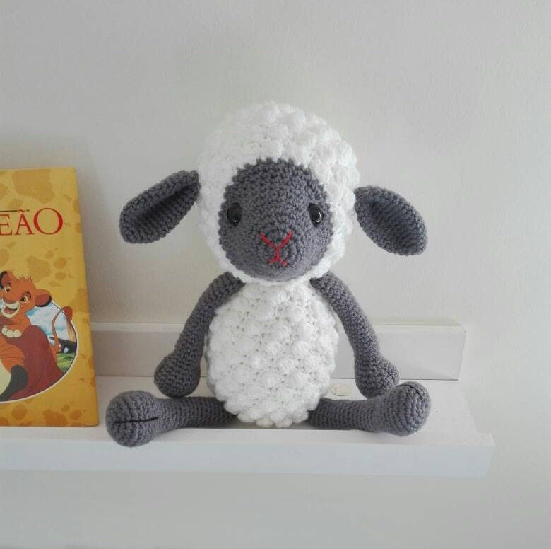 Amigurumi Stuffing : Amigurumi sheep Crochet toy amigurumi lamb stuffed