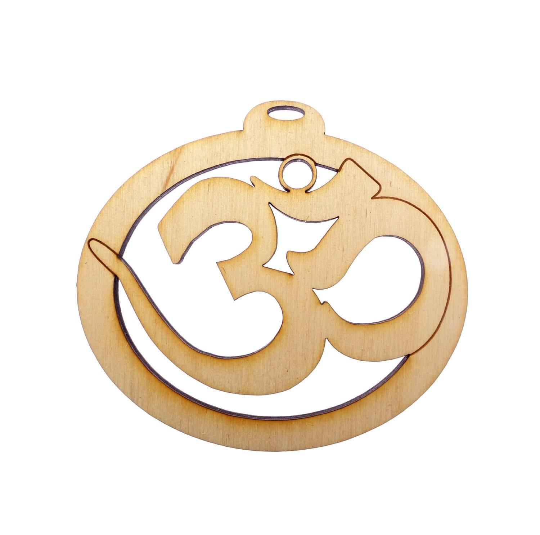 Yoga Inspired Gifts Yoga Ornament Yoga Gifts OM Ornament