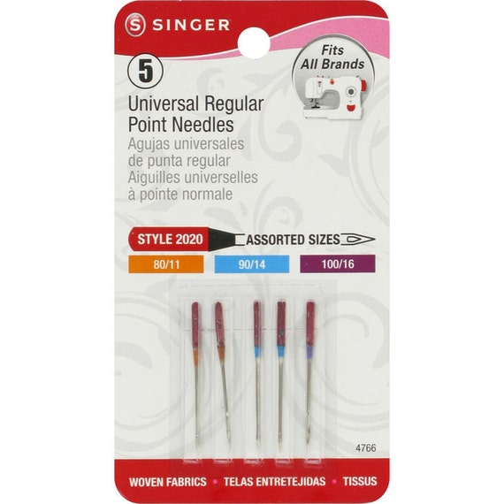 singer point sewing machine needles
