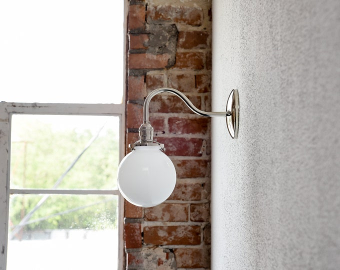 Brushed Nickel 2 Globe Vanity Bath Light Bar Interior: IlluminateVintage