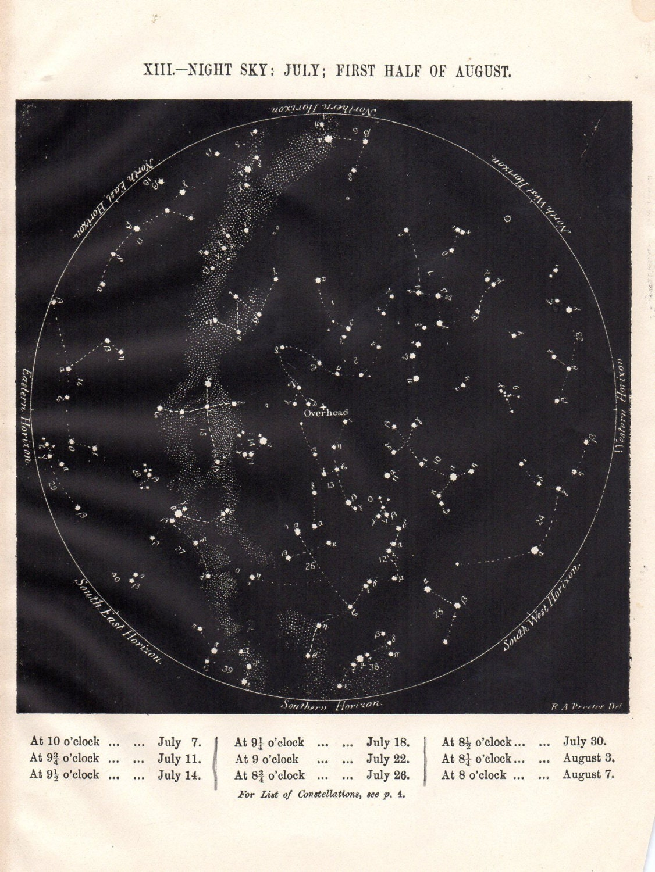 Map Of The Night Sky Ecosia