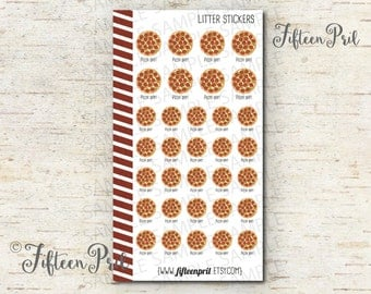 Pizza Day Stickers -J320