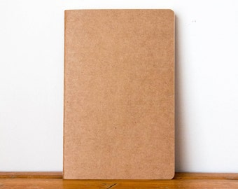 A5 Kraft Notebook
