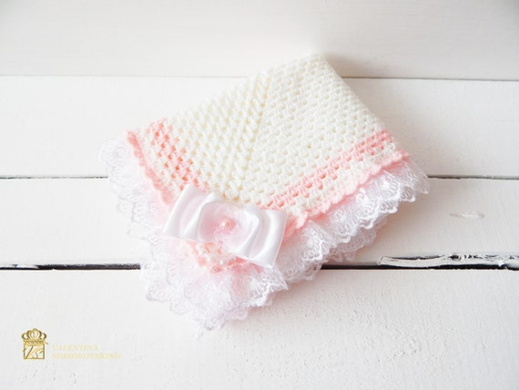 Crochet Baby Blanket, Baby Blanket. Ideal just to wrap baby in blanket.
