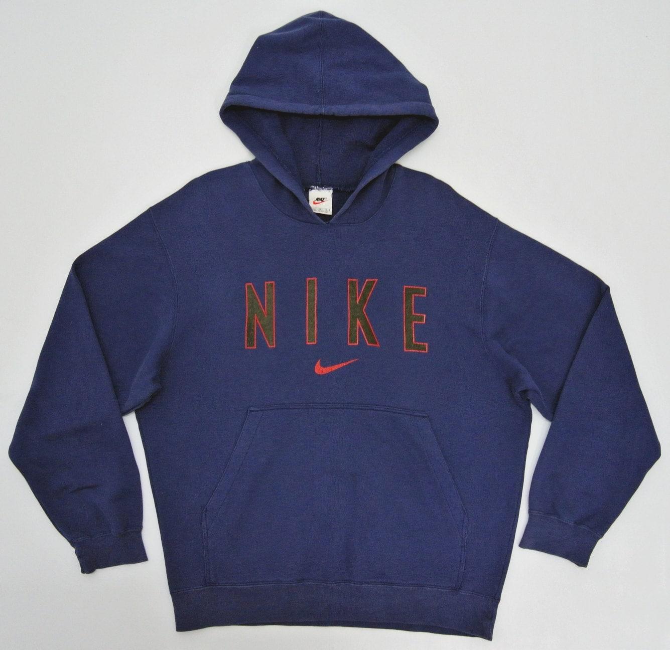 Vintage Nike Hoodie Mens