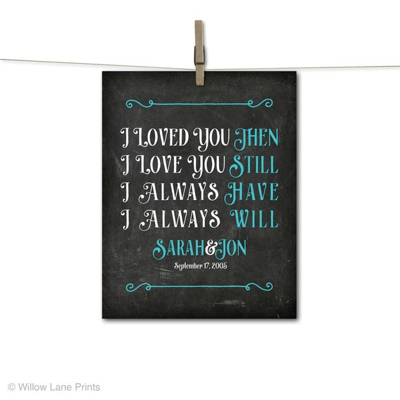 Tenth Wedding Anniversary Gift Ideas For Him: Personalized 10th Wedding Anniversary Gifts By