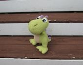 Crochet T-Rex, Amigurumi Dinosaur, T-Rex plush toy