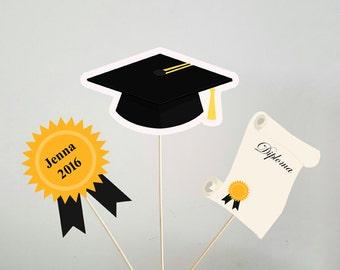 Graduation Centerpieces, Graduation Party Centerpiece