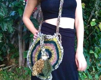 Forest elf freeform bag purse