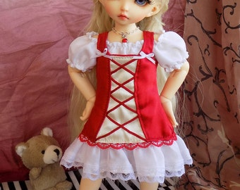 Red Dress Set for LittleFee / YoSD