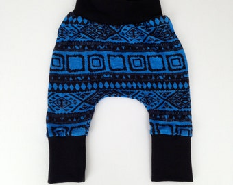 Baby and toddler tribal harem pants // harem pants // leggings // boy leggings // girl leggings