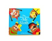 The Many Shirts of Mr. Sloth Children's Book