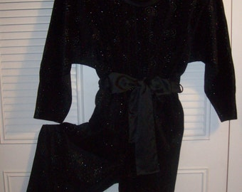 Jumpsuit XL,  Gilligan & O'Malley Jumpsuit to End All. Size 16 - 18. Elastic Waist see details