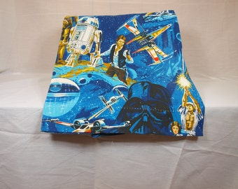 Star Wars,  pinch pleated drapes, 2 pieces,original,  vintage,  P1278629,