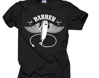 Gift For Barber T-Shirt Barber Shop Tee Shirt Employee Shirt
