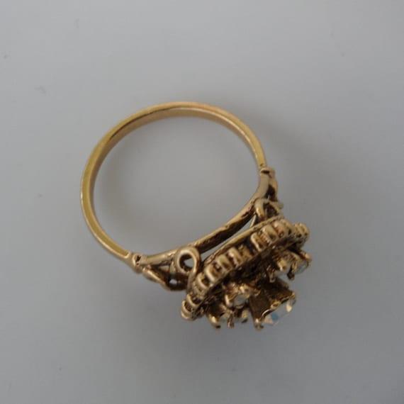 18k Hge Faux Opal Ring Vintage Opal Rings For Women Ring Size
