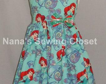 Ariel Halter Style Dress