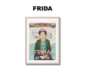 Affiche de film Frida - Poster Julie Taymor A3