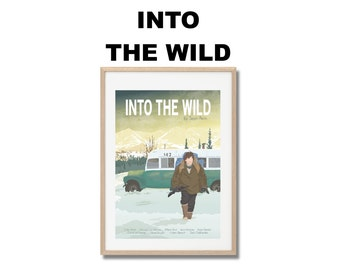 Into The Wild Movie Print - Poster Sean Penn A3