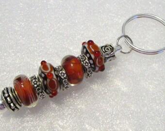 990 - Beaded Key Ring