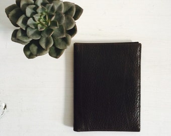 Bond Street Italian Leather Wallet : Deep Mocha