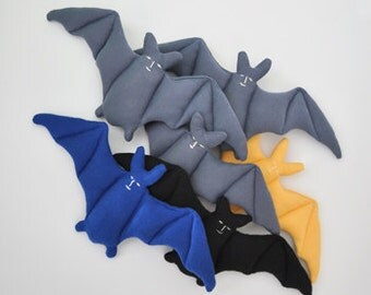 BAT, organic cotton plush
