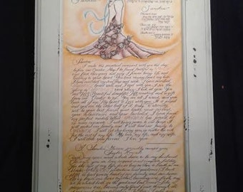 Two in One Tree Ketubah