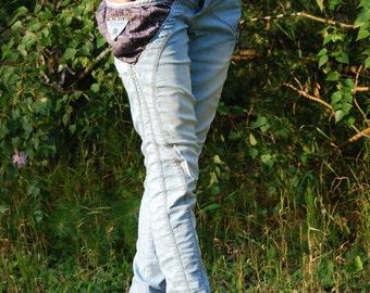 D&G 90s Vintage Denim Pants Original Dolce and Gabbana Jeans Skinny Trousers Low Waisted Denim Pants Hippie Bohemian