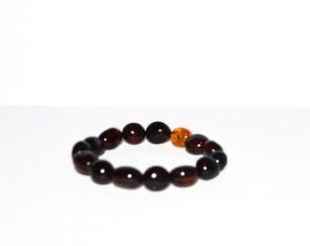 Luxury Natural Baltic Amber Bracelet