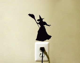Witches Of Oz Sticker   Wizard Of Oz Wall Decal   Witch Wall Decor   Teen
