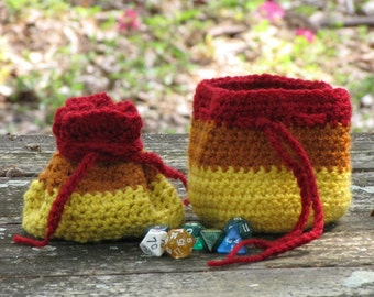 Cunning Drawstring Dice Bag Inspired by Firefly's Jayne Cobb