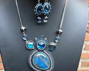 "Shop ""labradorite"" in Jewelry Sets"