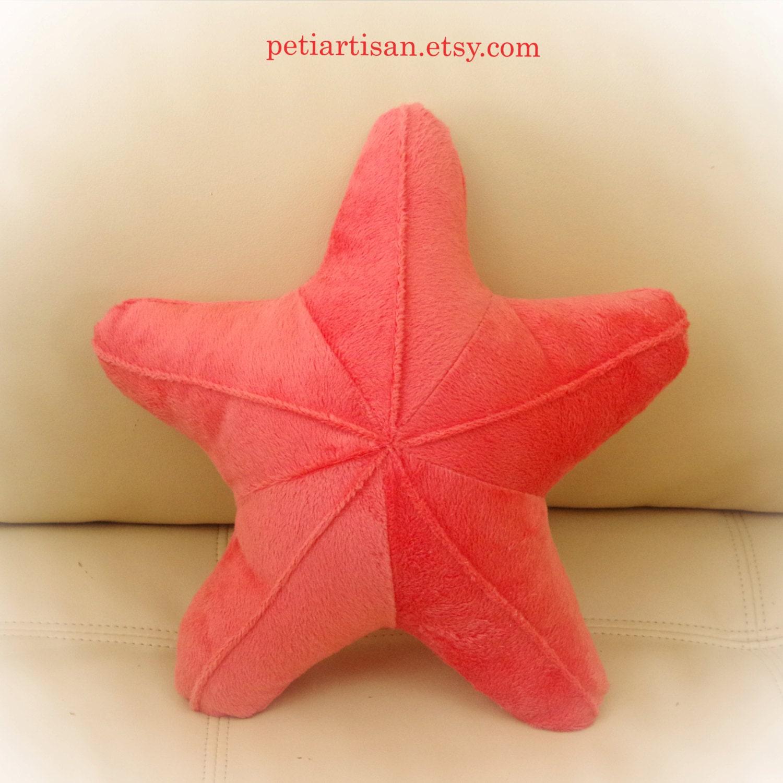 Starfish Shaped Pillow Toy Pillow 3D Pillow Nautical Decor