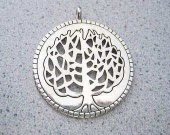 Jewelry Supplies ~ Tree of Life  Pendant   Jewelry supply   Large