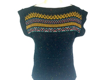 Beautiful Vintage Pullover Sweater Vest by Garland