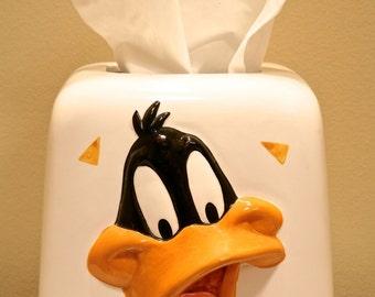 DAFFY DUCK Tissue Dispenser