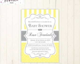baby shower invitation spanish boy or girl baby shower spanish invite