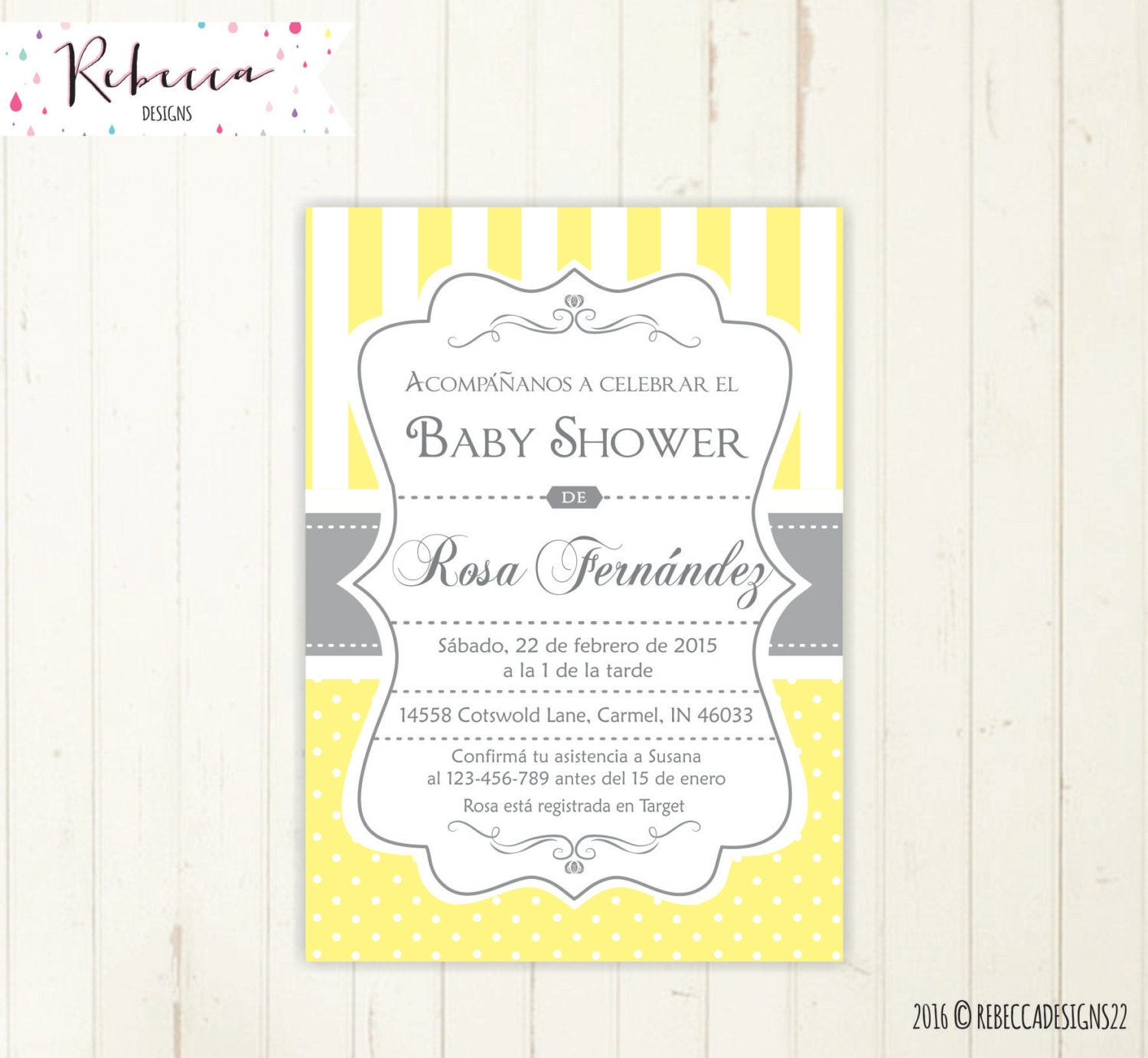 Baby Shower Games In Spanish: Baby Shower Invitation Spanish Boy Or Girl Baby Shower Spanish