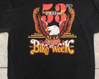Daytona Bike Week 1994 T-Shirt, size L